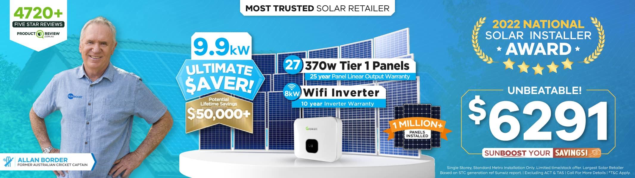 10kw solar system price Sunboost