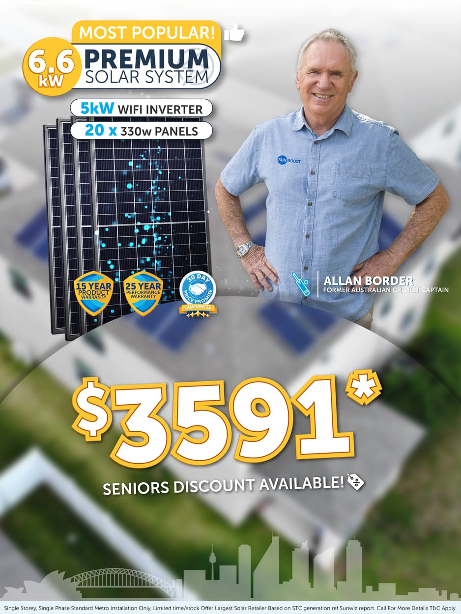 Solar panel Offer At Queensland