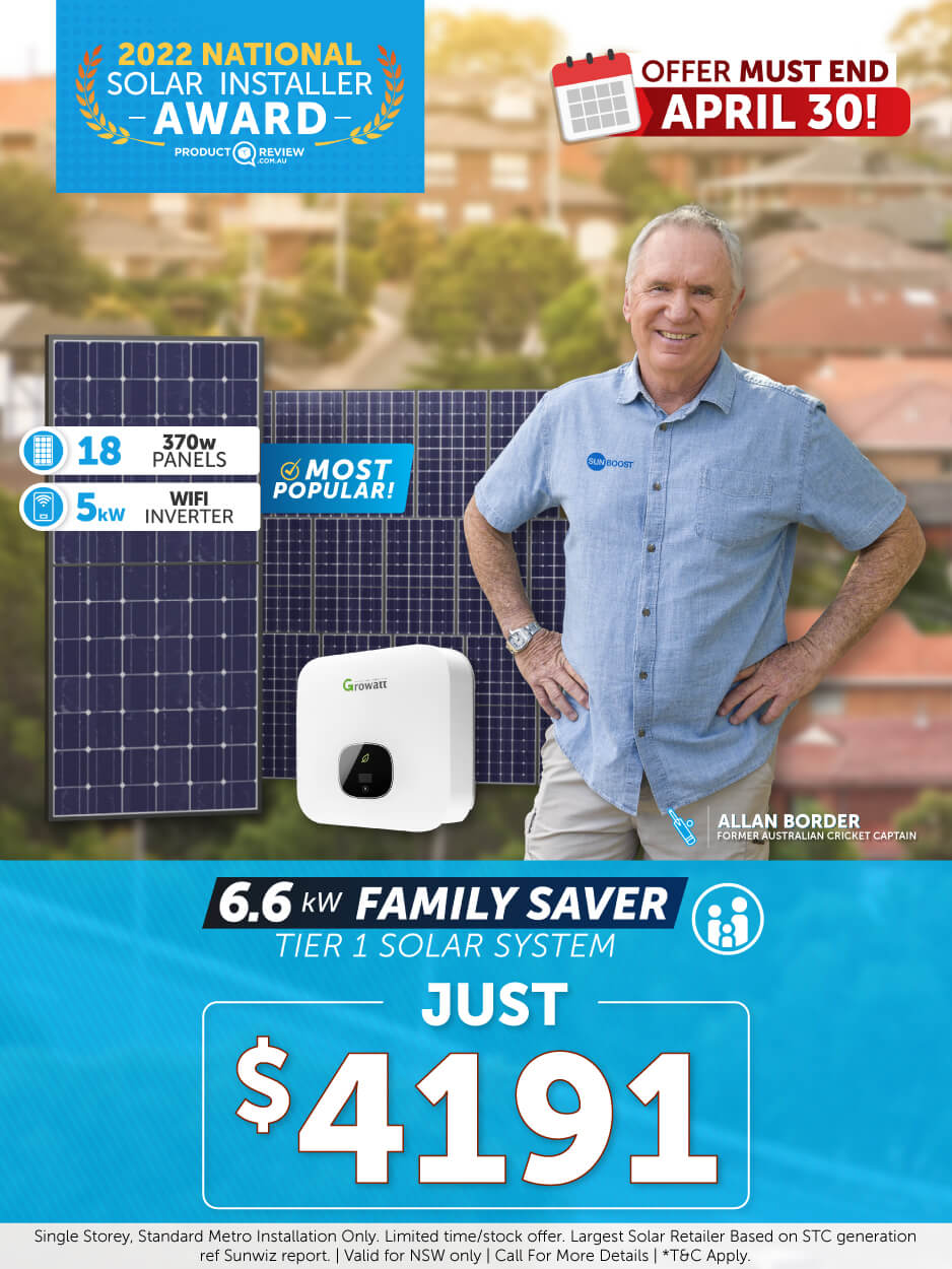 Solar Special Offers sunboost