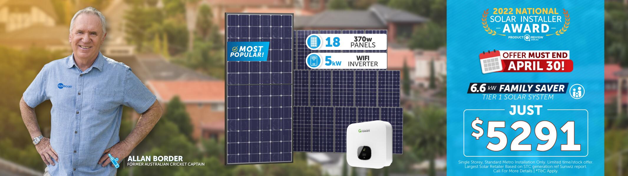 solar panels price TAS by Sunboost