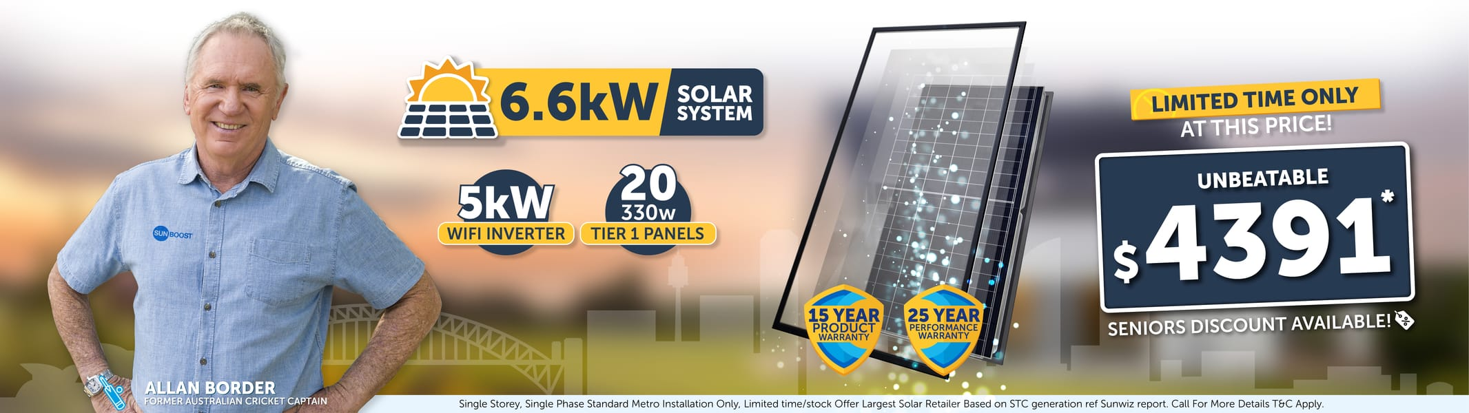 Solar Panel Offer At Victoria